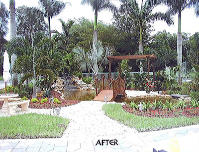 Jobs Well Done Tropical Touch Garden Center Clients In South Florida
